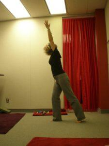 Shulamit Ber Levtov teaching easy warrior